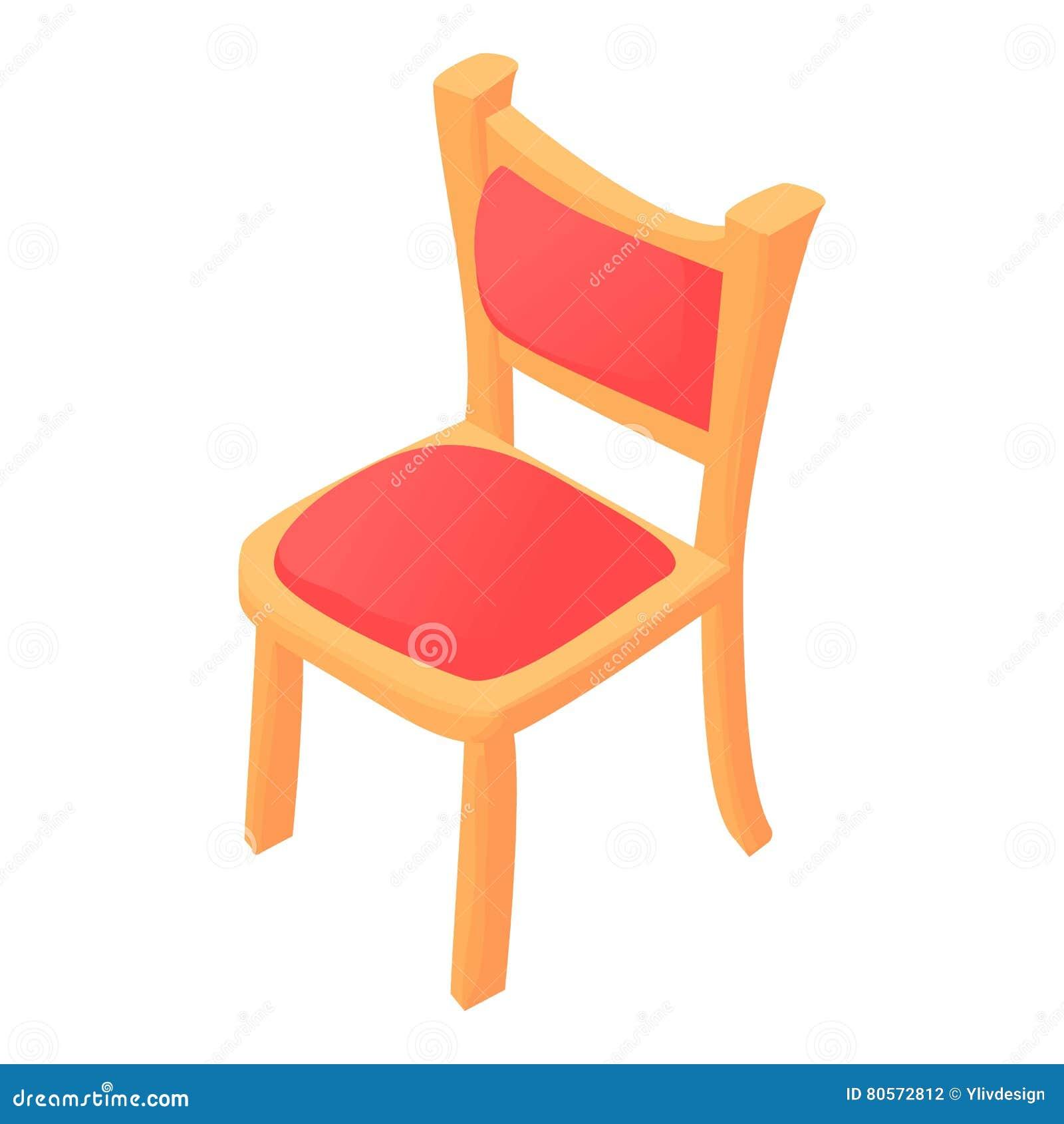 Office Chair Icon Cartoon Style Cartoon Vector