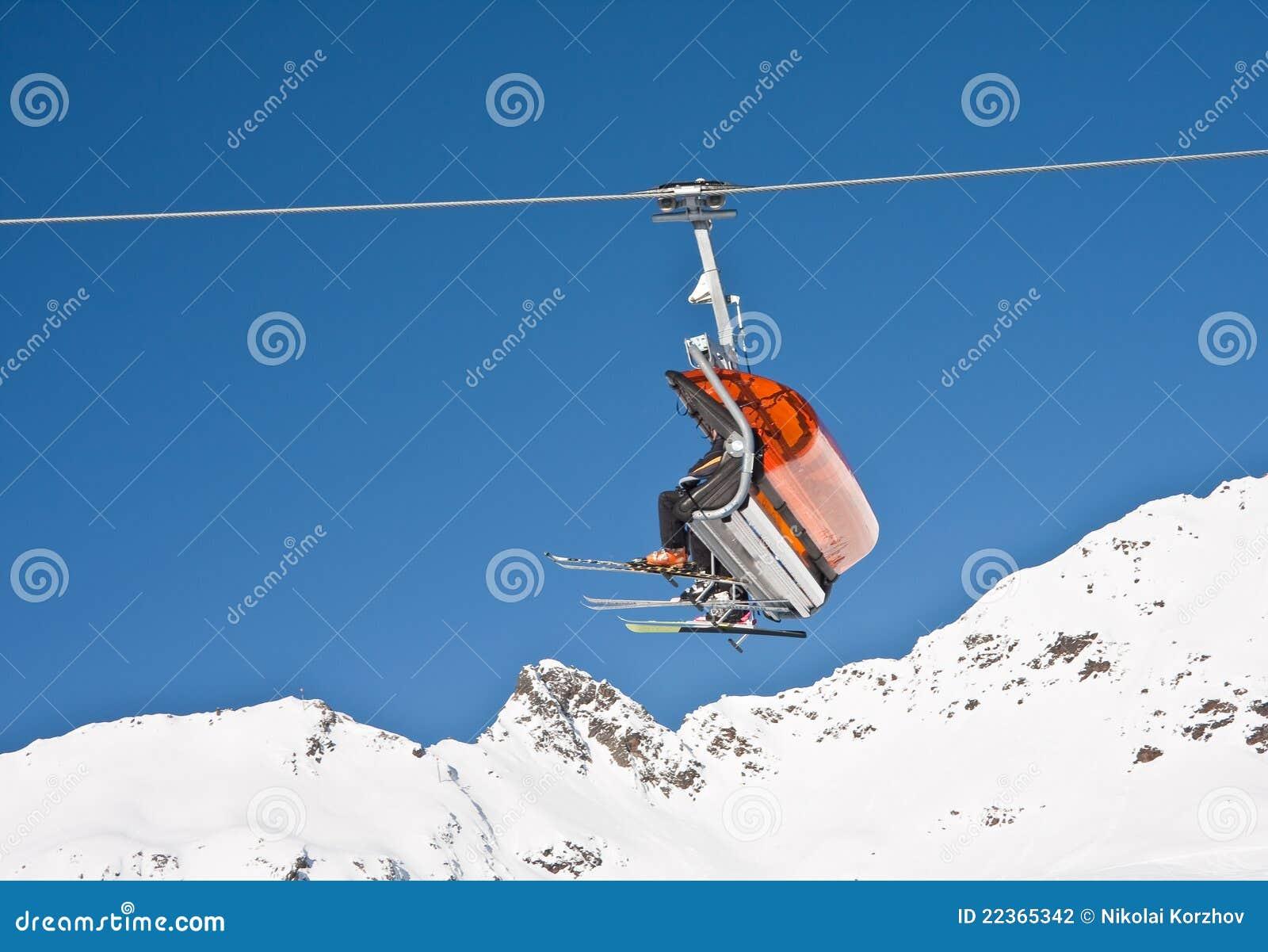 Ski chair lift reanimators