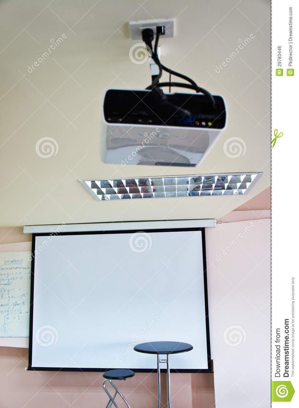 Chair Of The Teacher And LCD Projector In The Classroom  : chair teacher lcd projector classroom thailand 29783446 School Desk Chair <strong>Drawing</strong> from www.dreamstime.com size 955 x 1300 jpeg 92kB