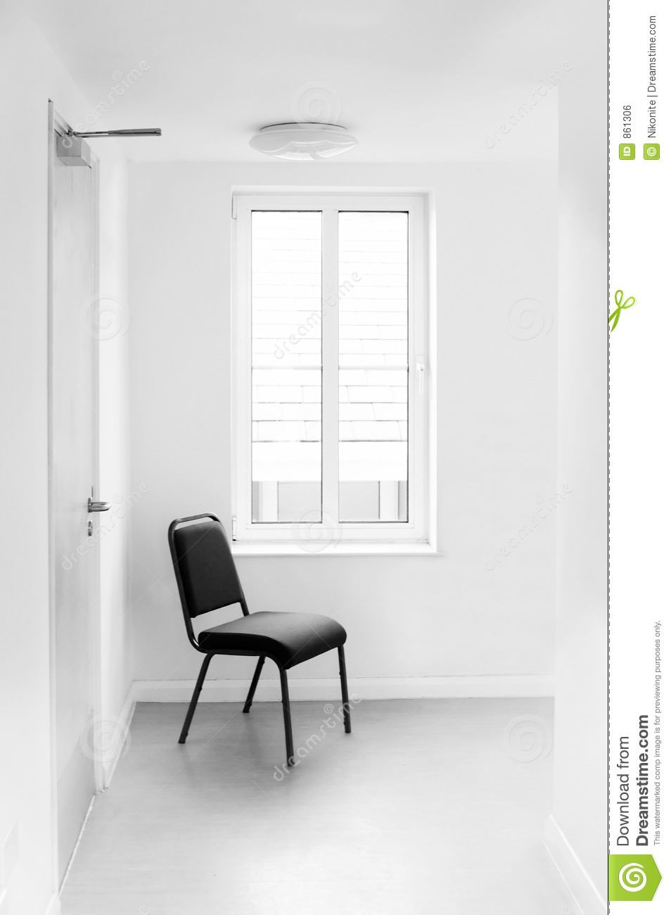 Chair In White Hospital Room Stock Photo Image Of Inside