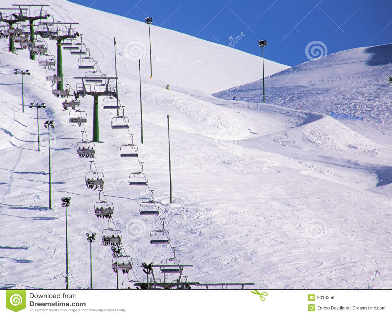 Chairlift χειμώνας