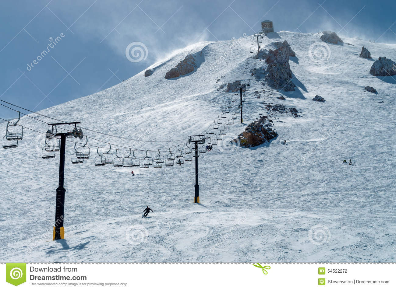 Chairlift 23 at mammoth mountain stock photo image 54522272 for Chair 23 mammoth
