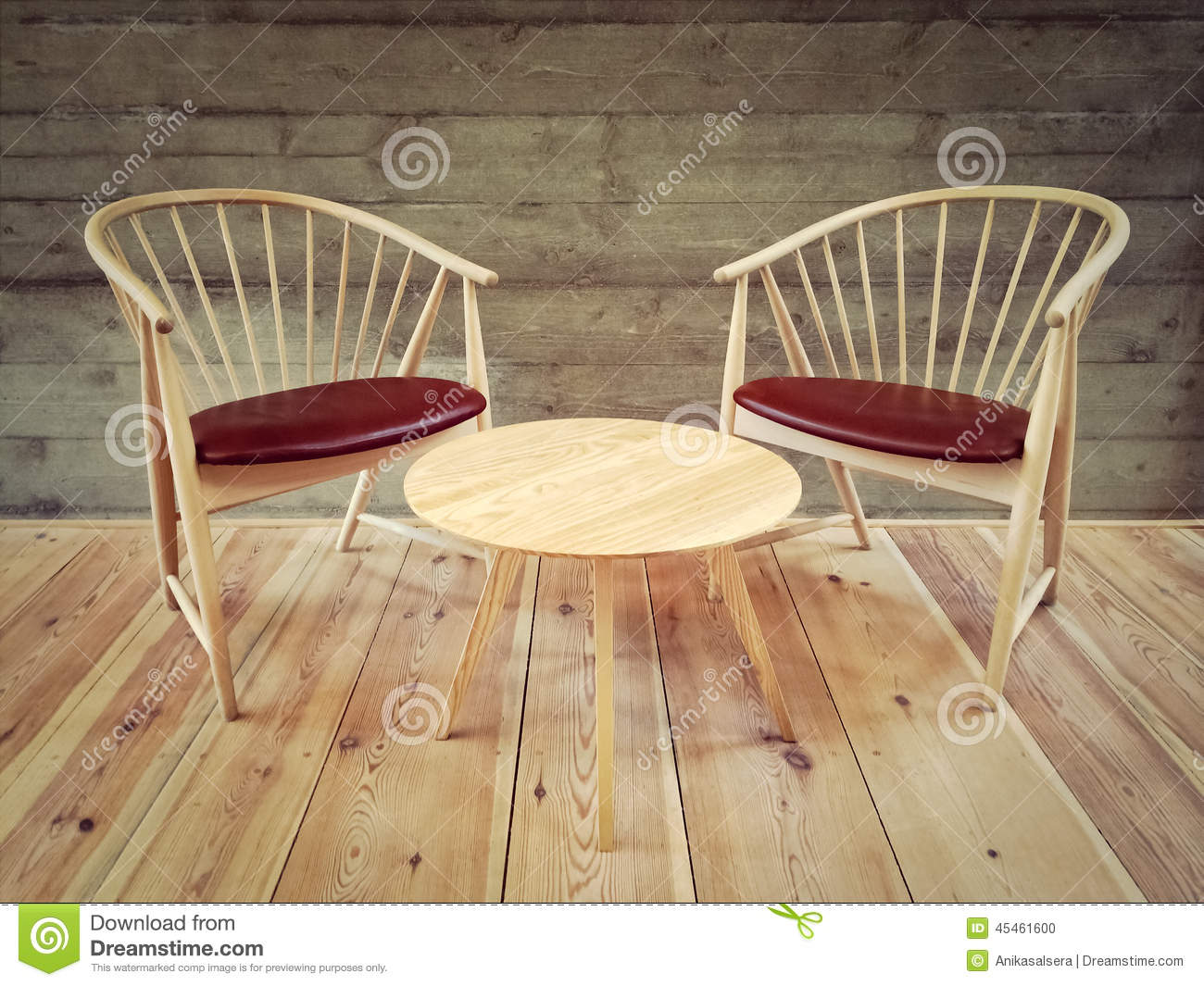 Magnificent Chairs And Coffee Table In A Room With Modern Design Stock Ibusinesslaw Wood Chair Design Ideas Ibusinesslaworg