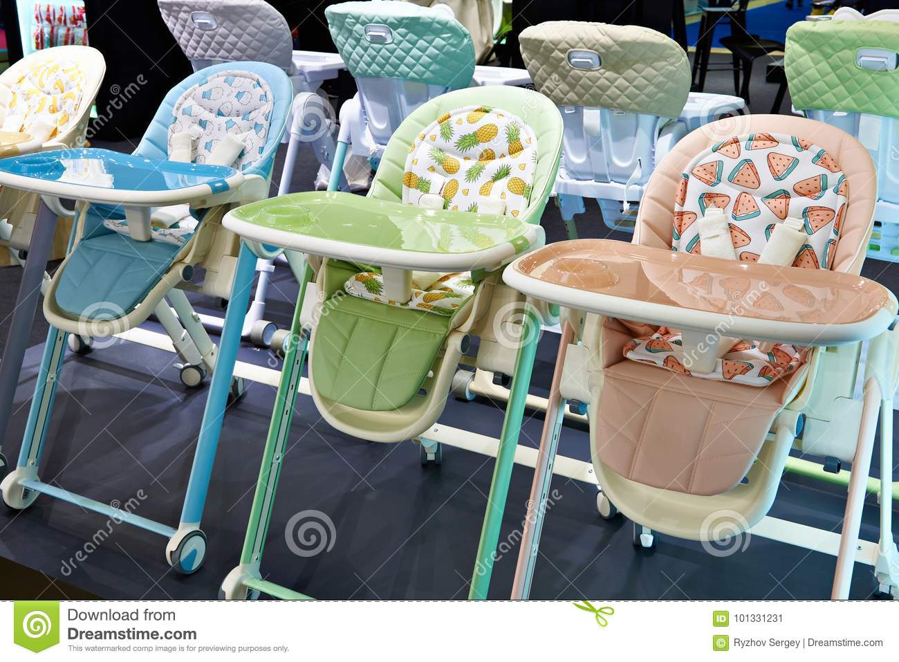 Chairs for feeding baby