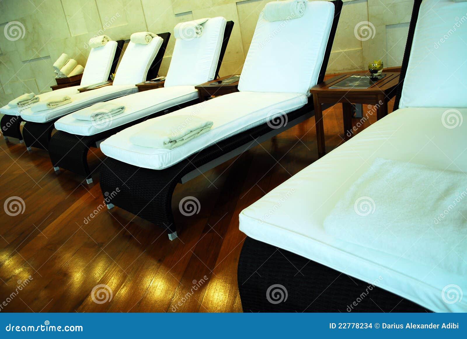 Chairs lounge spa