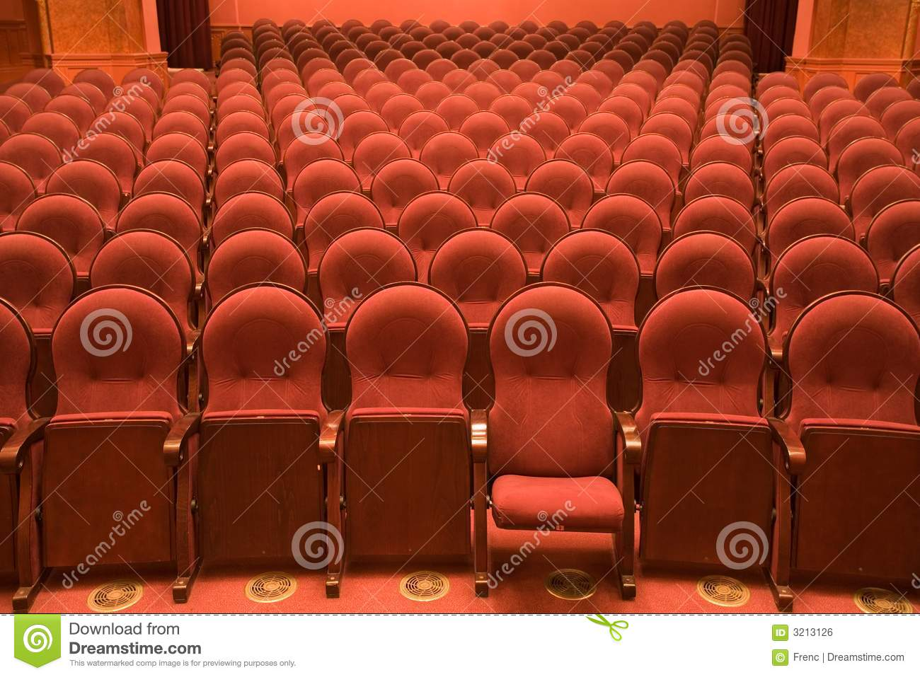 Pleasant Chairs In An Old Cinema Stock Photo Image Of Chair Hall Caraccident5 Cool Chair Designs And Ideas Caraccident5Info