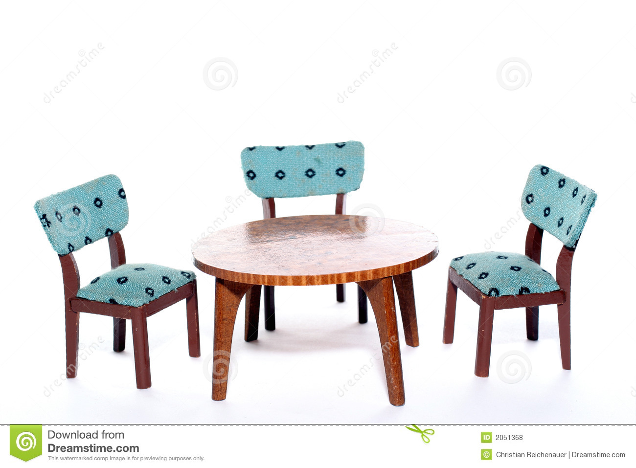 Chairs round a table