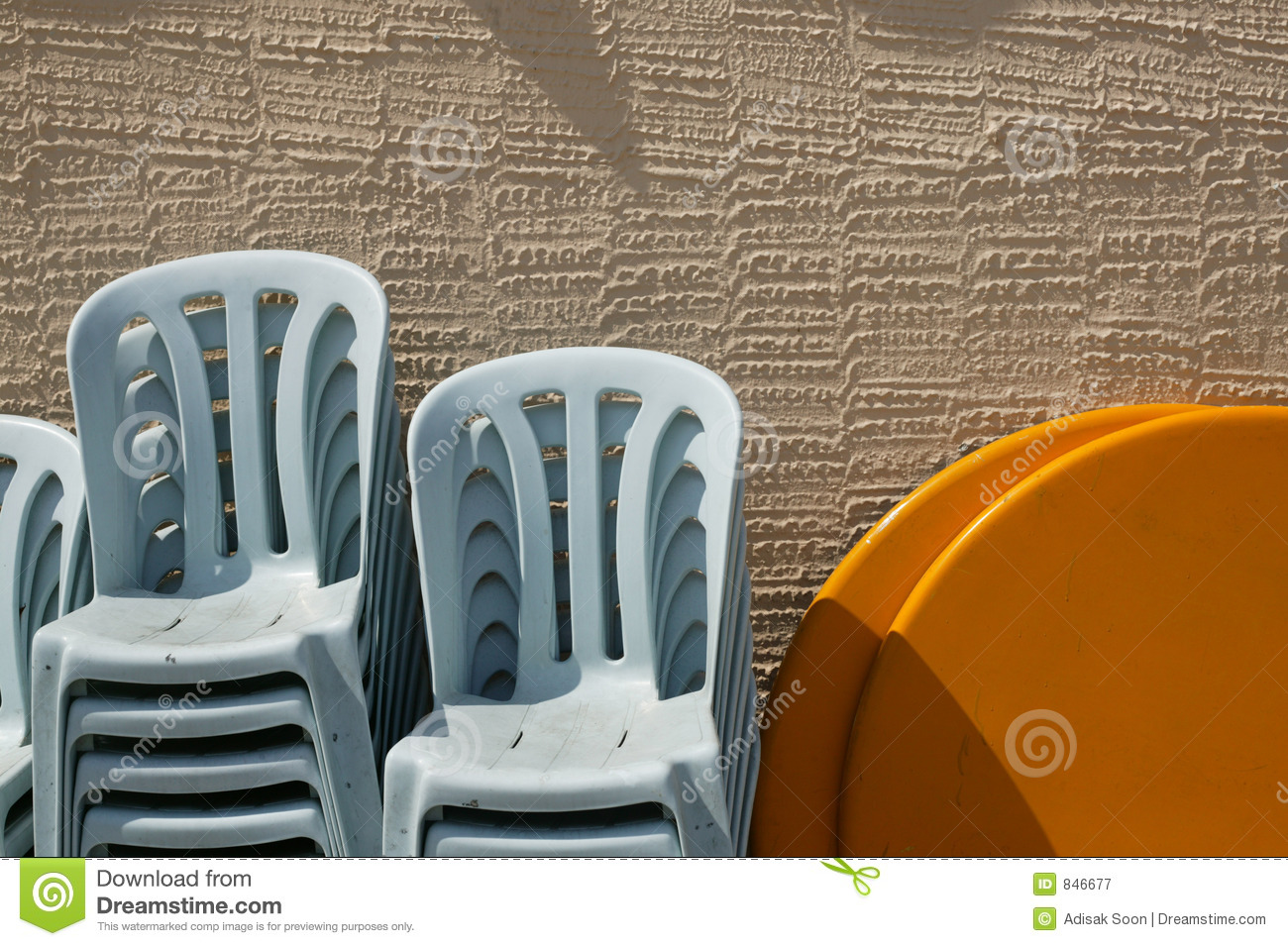 Chairs in the sun