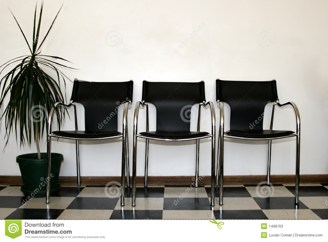 Chairs Waiting Room Stock Photos Image 1498763