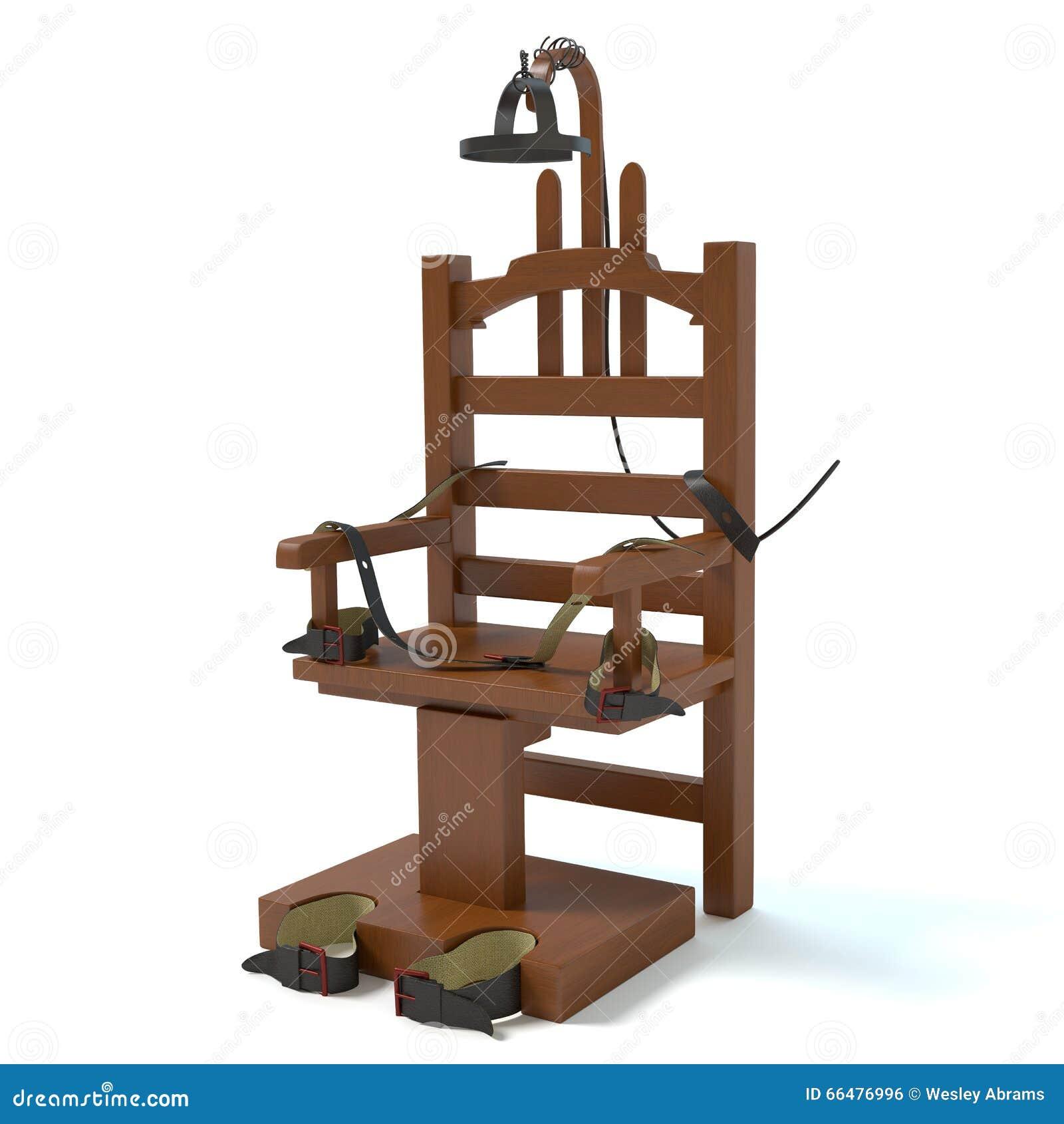 chaise lectrique illustration stock image du punition 66476996. Black Bedroom Furniture Sets. Home Design Ideas