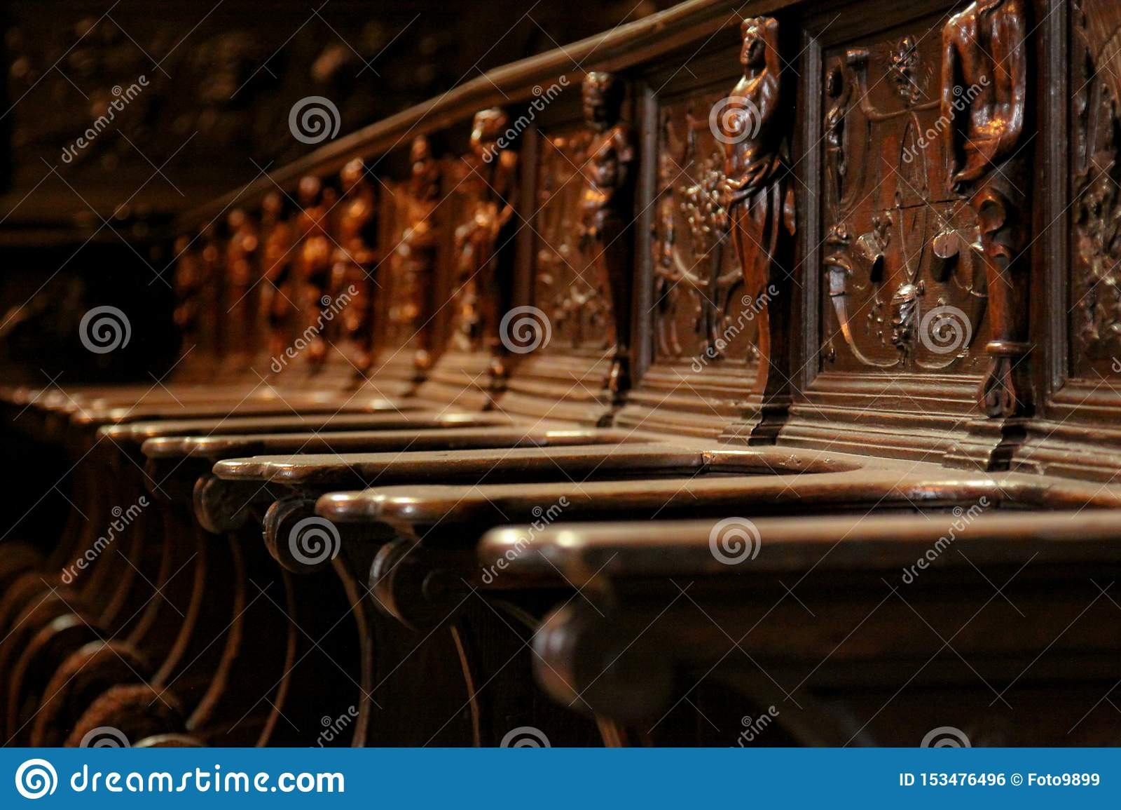 Chaise de choeur