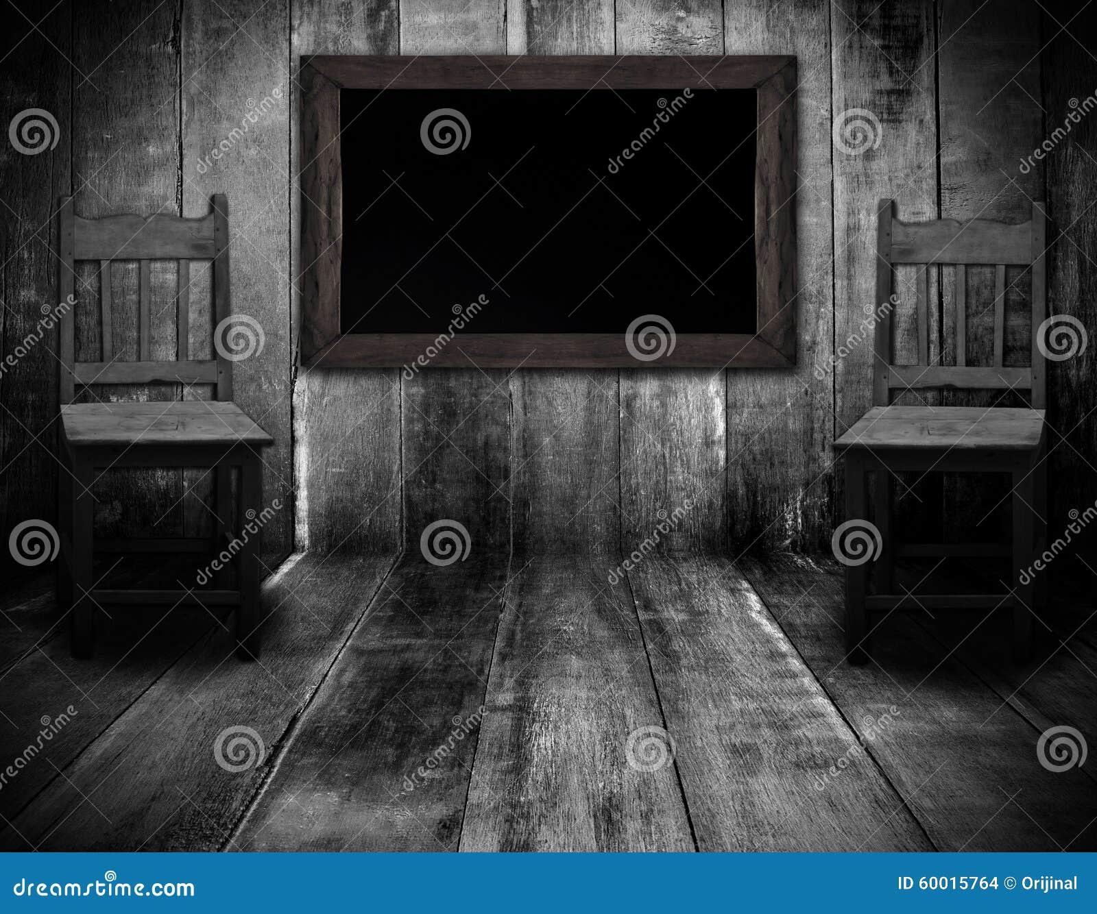 Valet de chambre design for Tableau noir en bois