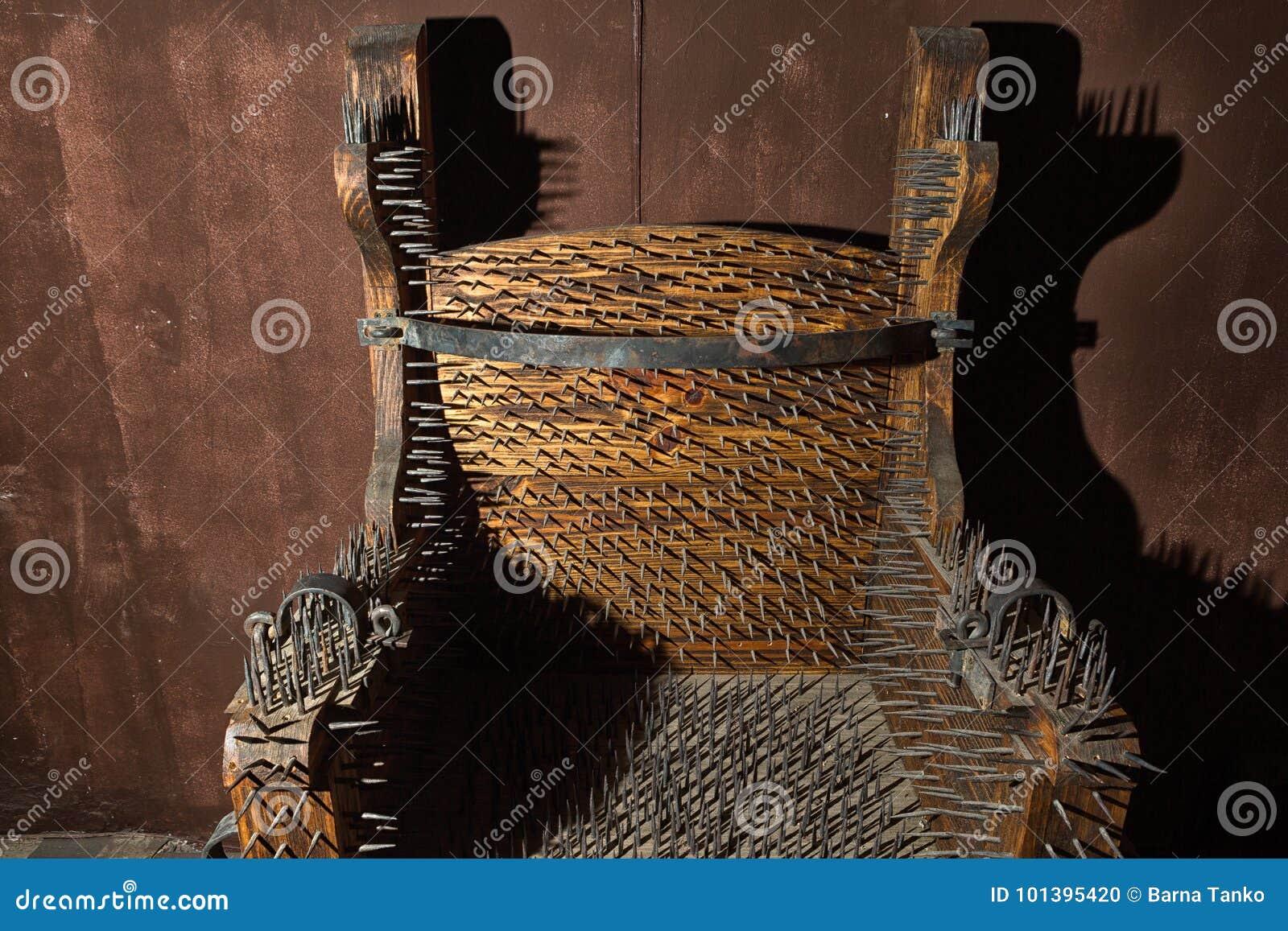 Chaise de torture d Espagnol