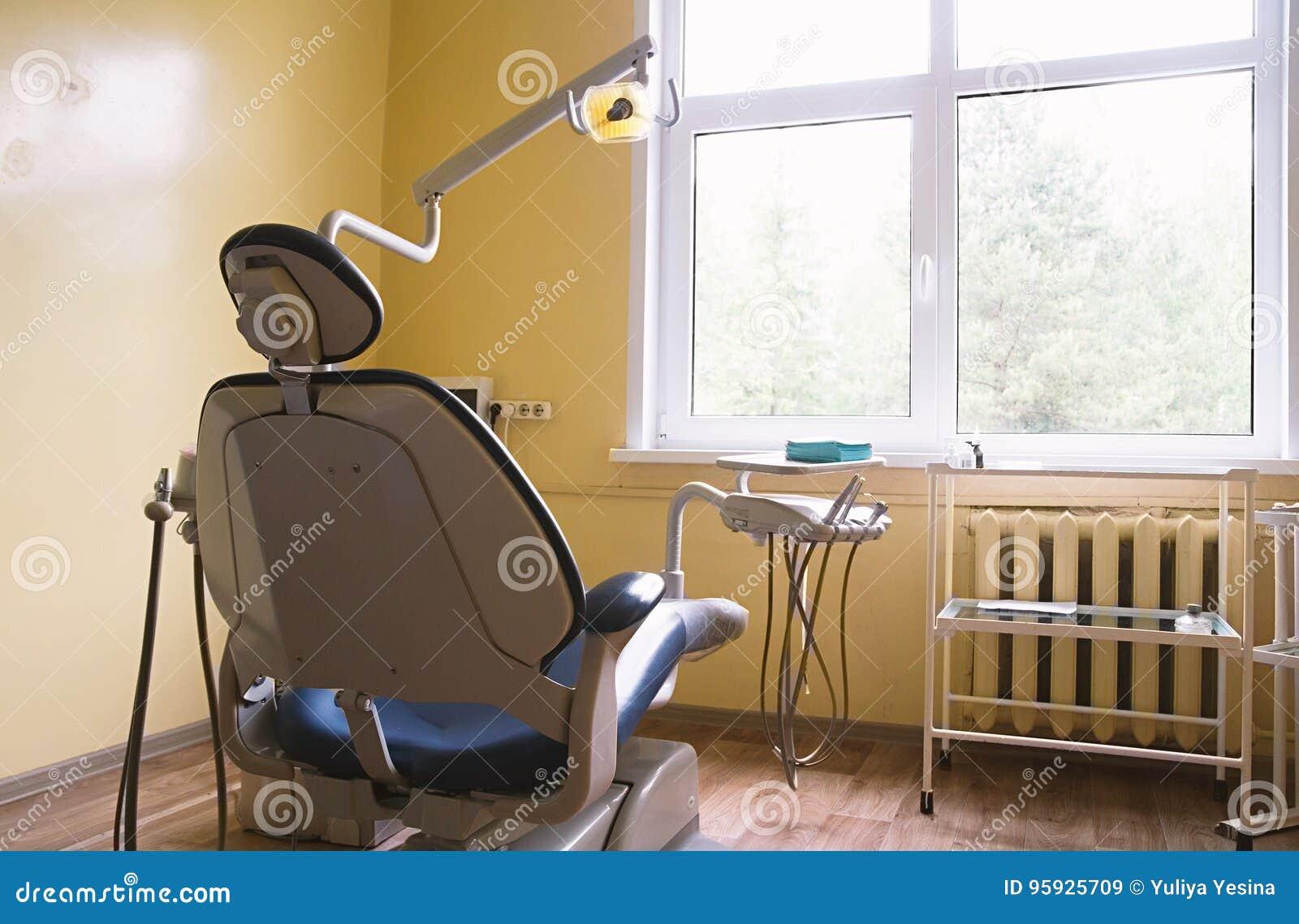 Chaise Du S De Dentiste Dans Un Cabinet Mdical