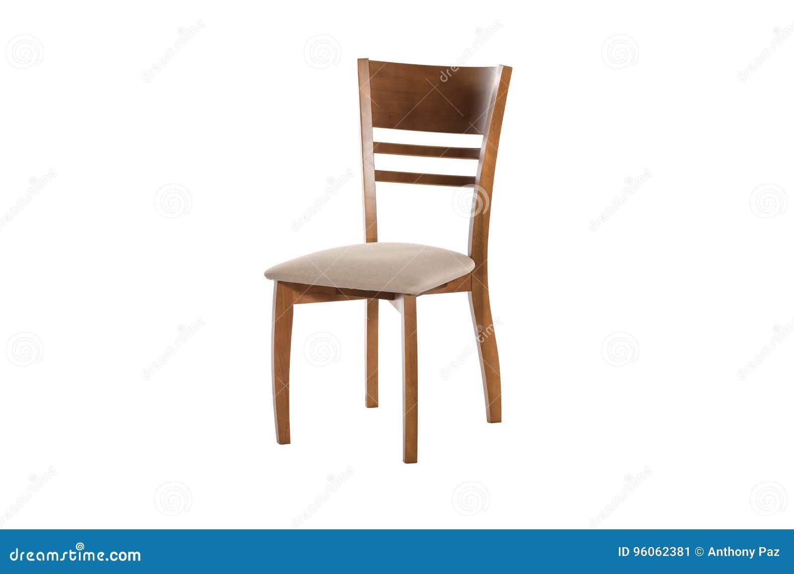 Chaise en bois Objet d isolement du fond