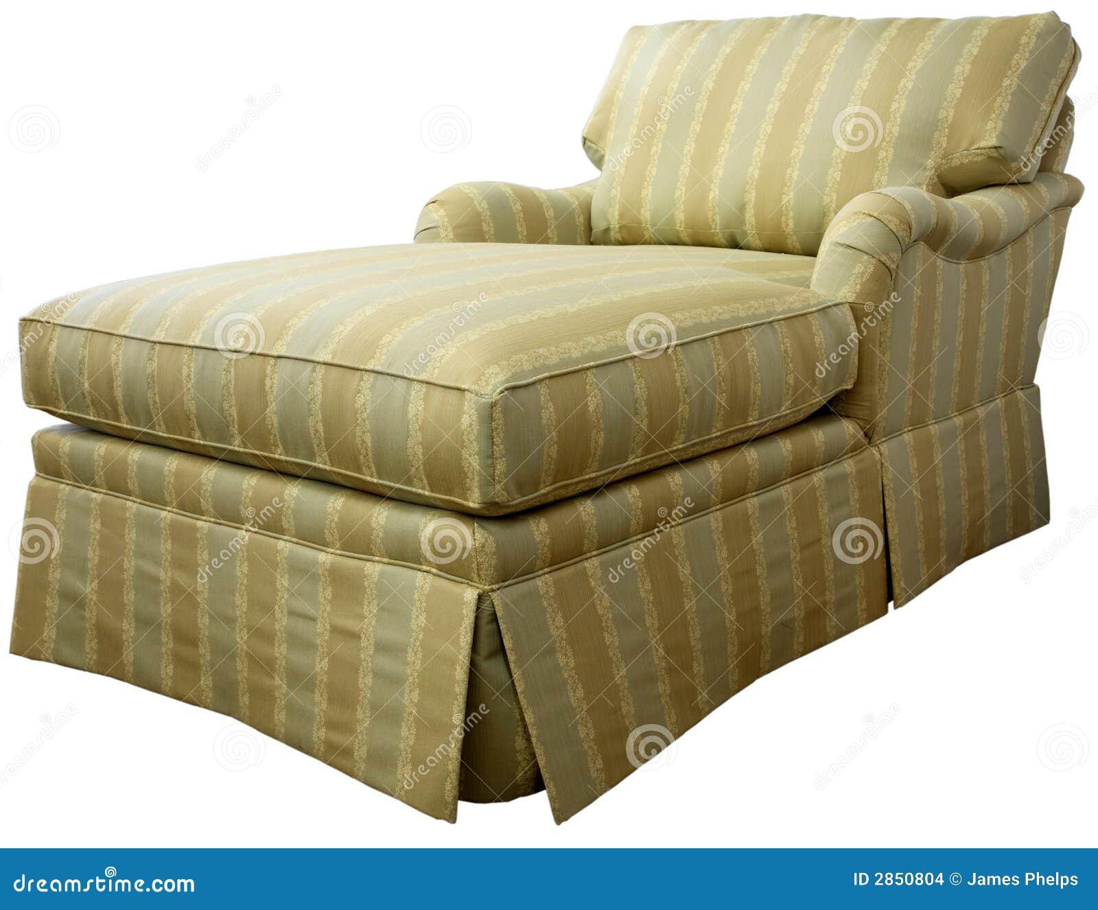 Chaise Lounge Sofa Stock Image