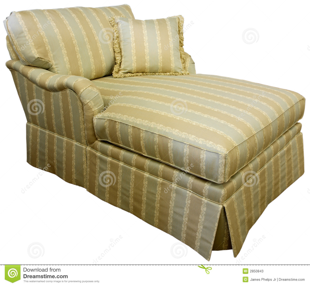 Chaise Lounge Sofa Stock Photos - Image: 2850843