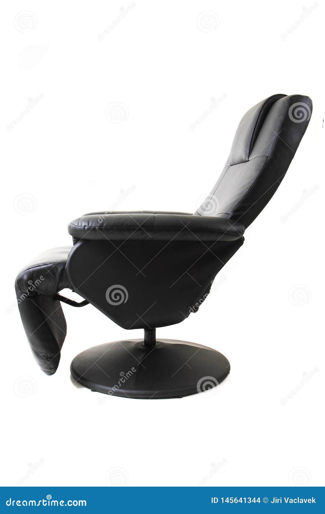 Chaise noire de relaxation