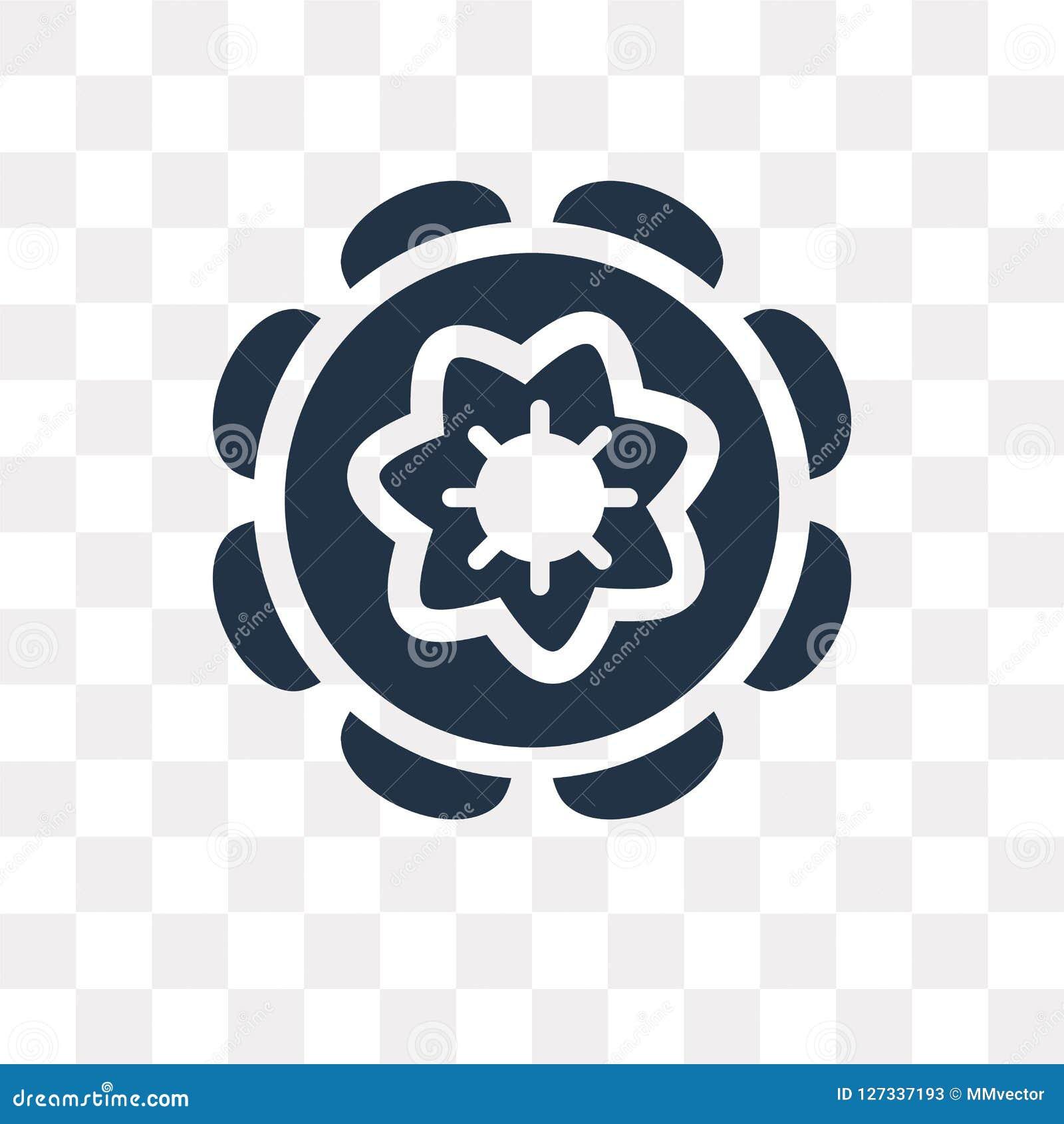 Chakra wektorowa ikona odizolowywająca na przejrzystym tle, Chakra t