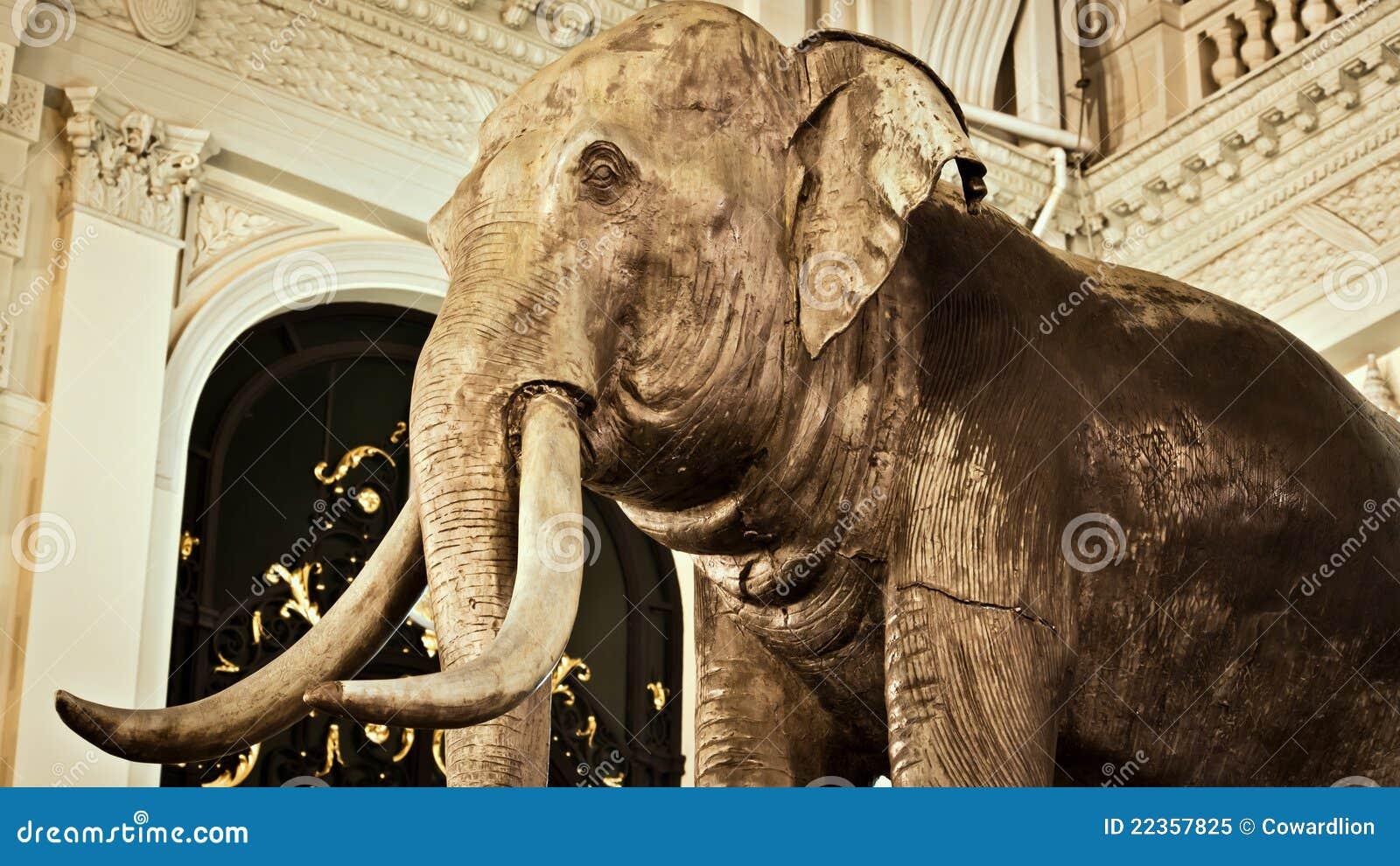 Chakri大象maha prasat雕刻thro