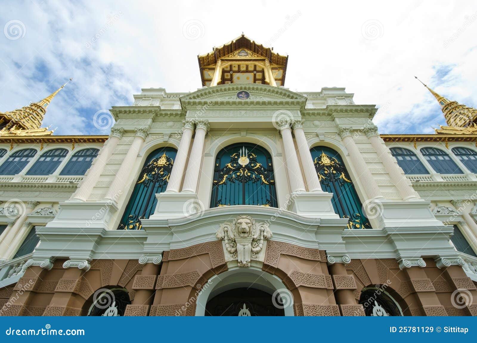 The Chakri Maha Prasat Throne Hall Royalty Free Stock ...