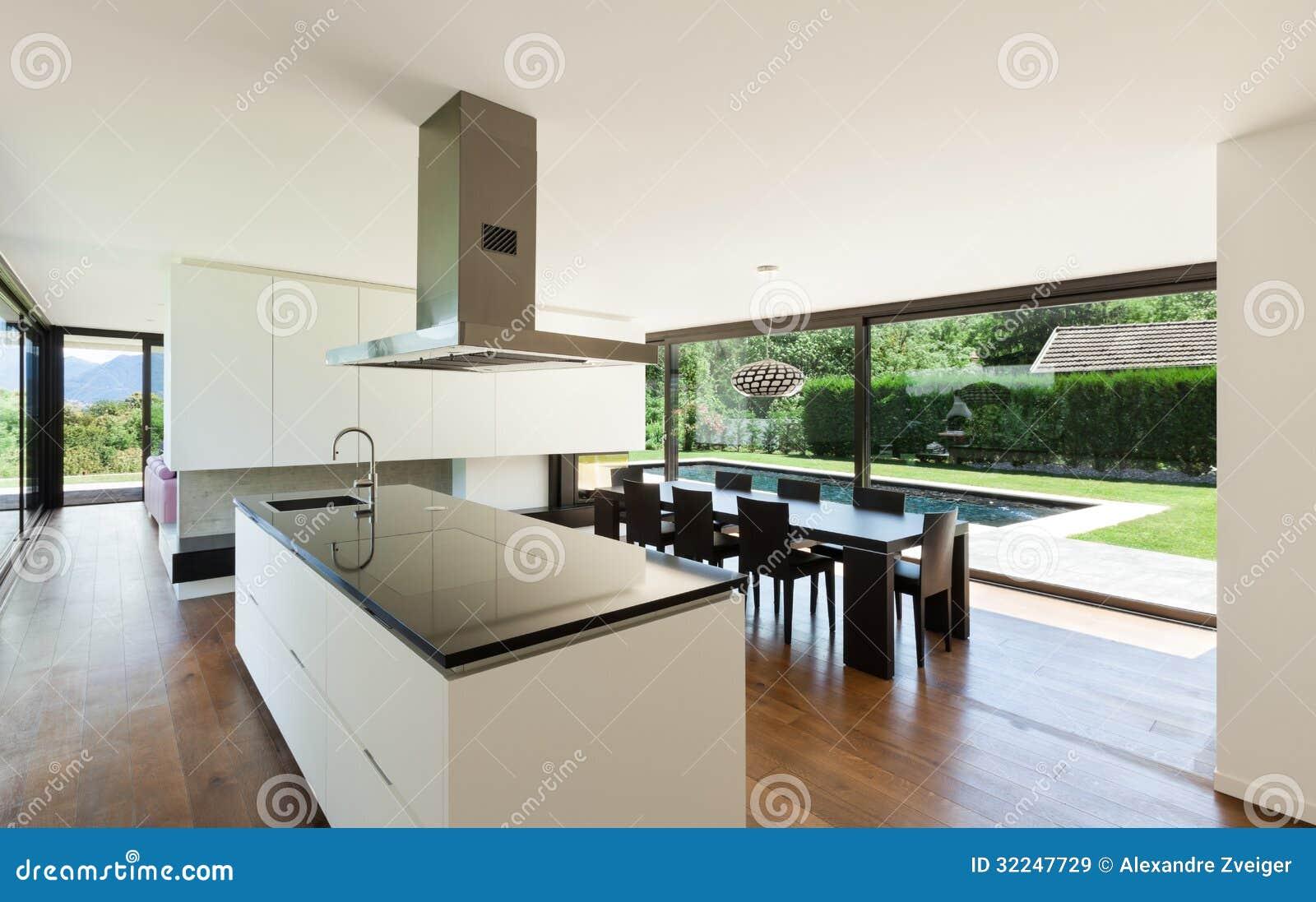 Chalet moderno, interior