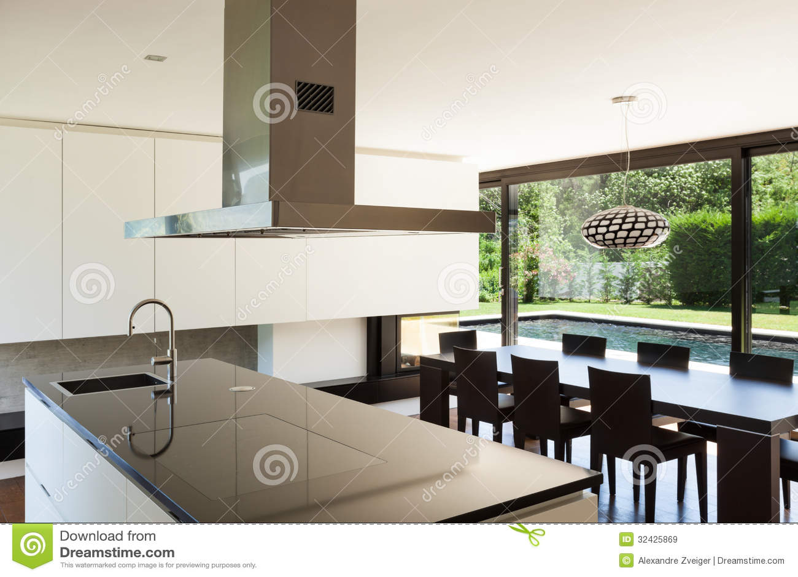 chalet moderno interior imagen de archivo imagen de