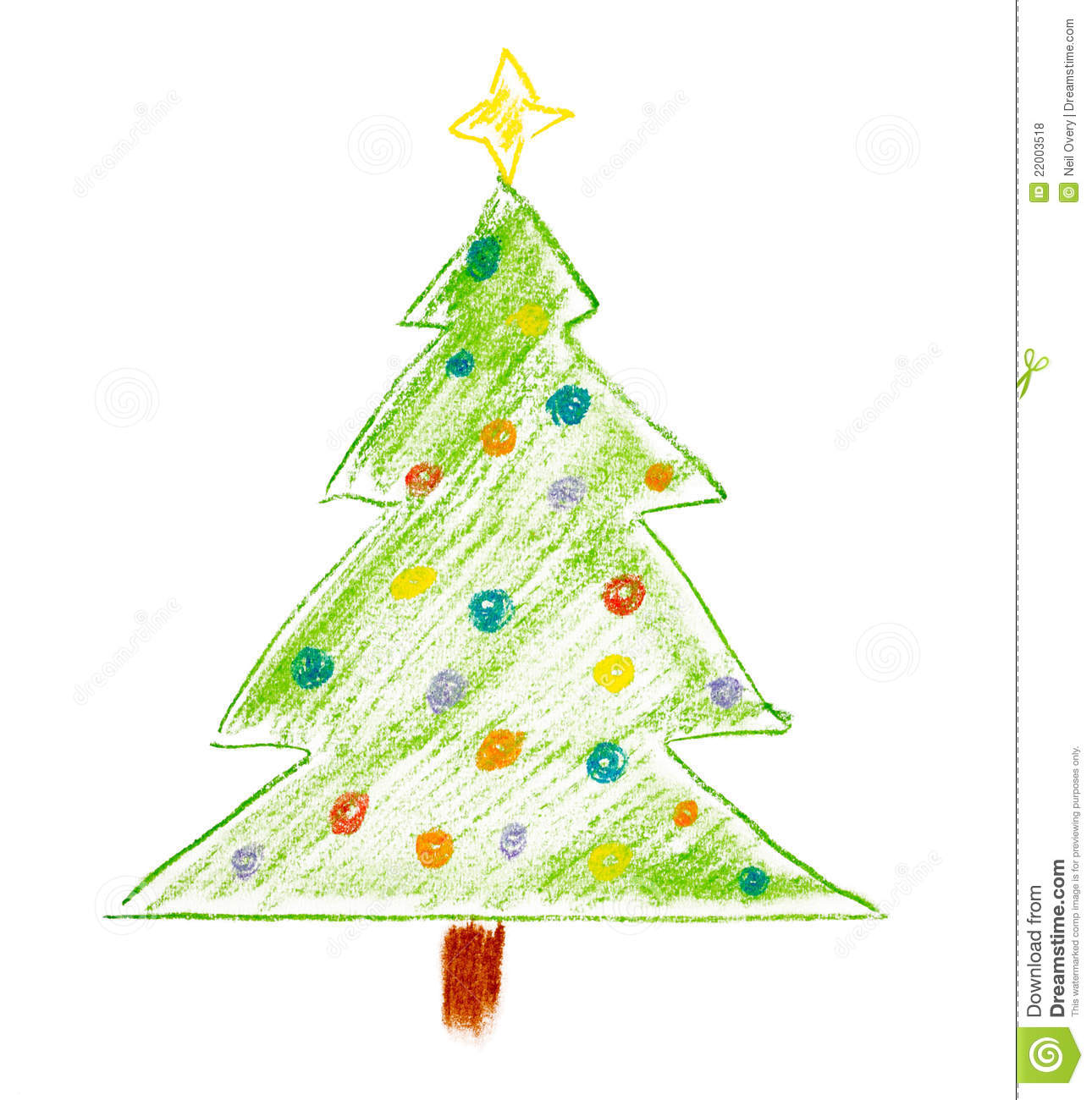 94+ Christmas Tree Drawing Color - Christmas Tree Color Pages ...