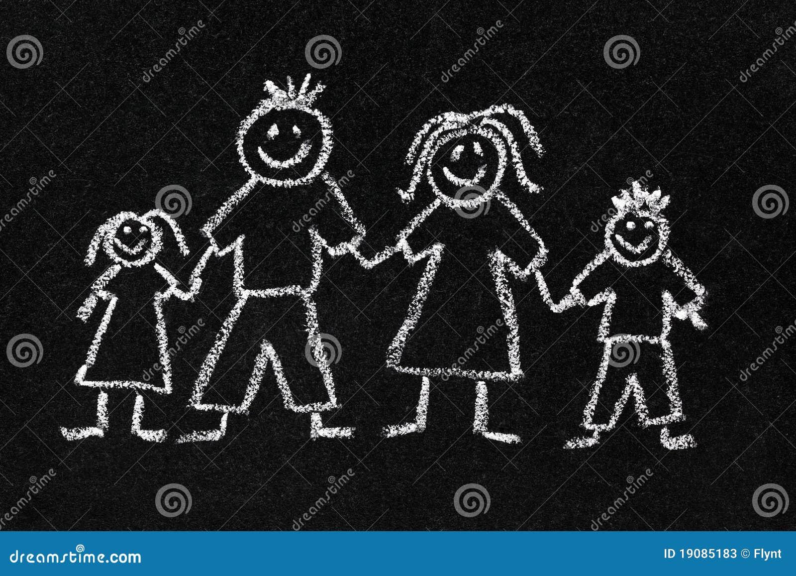 Mamma figlia e figlio allegra famiglia - 1 6
