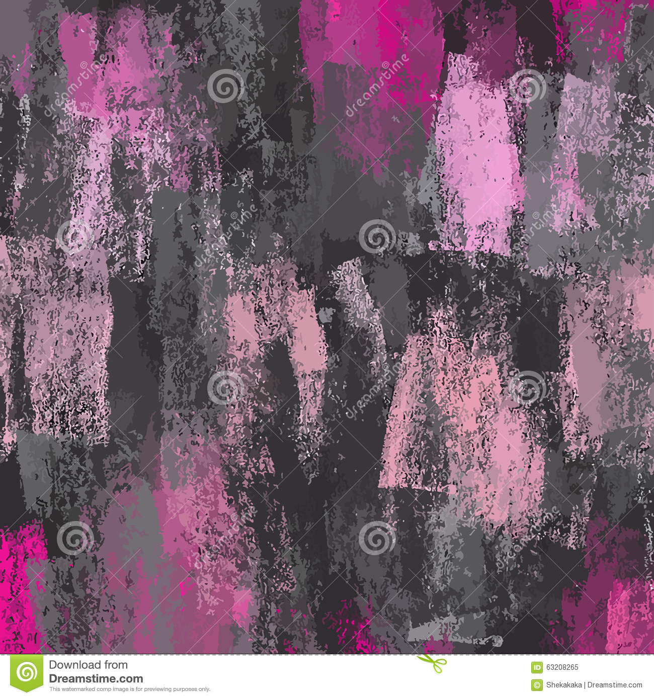 Chalk Pink And Gray Background. Stock Illustration - Image: 63208265