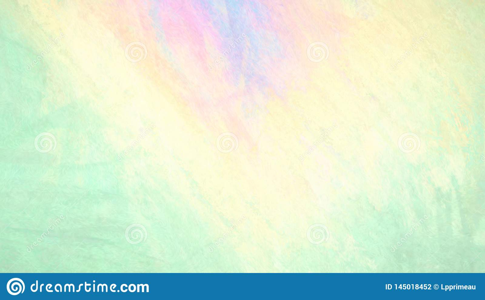 Colorful Background Chalk Smudge In Pink Orange Green And
