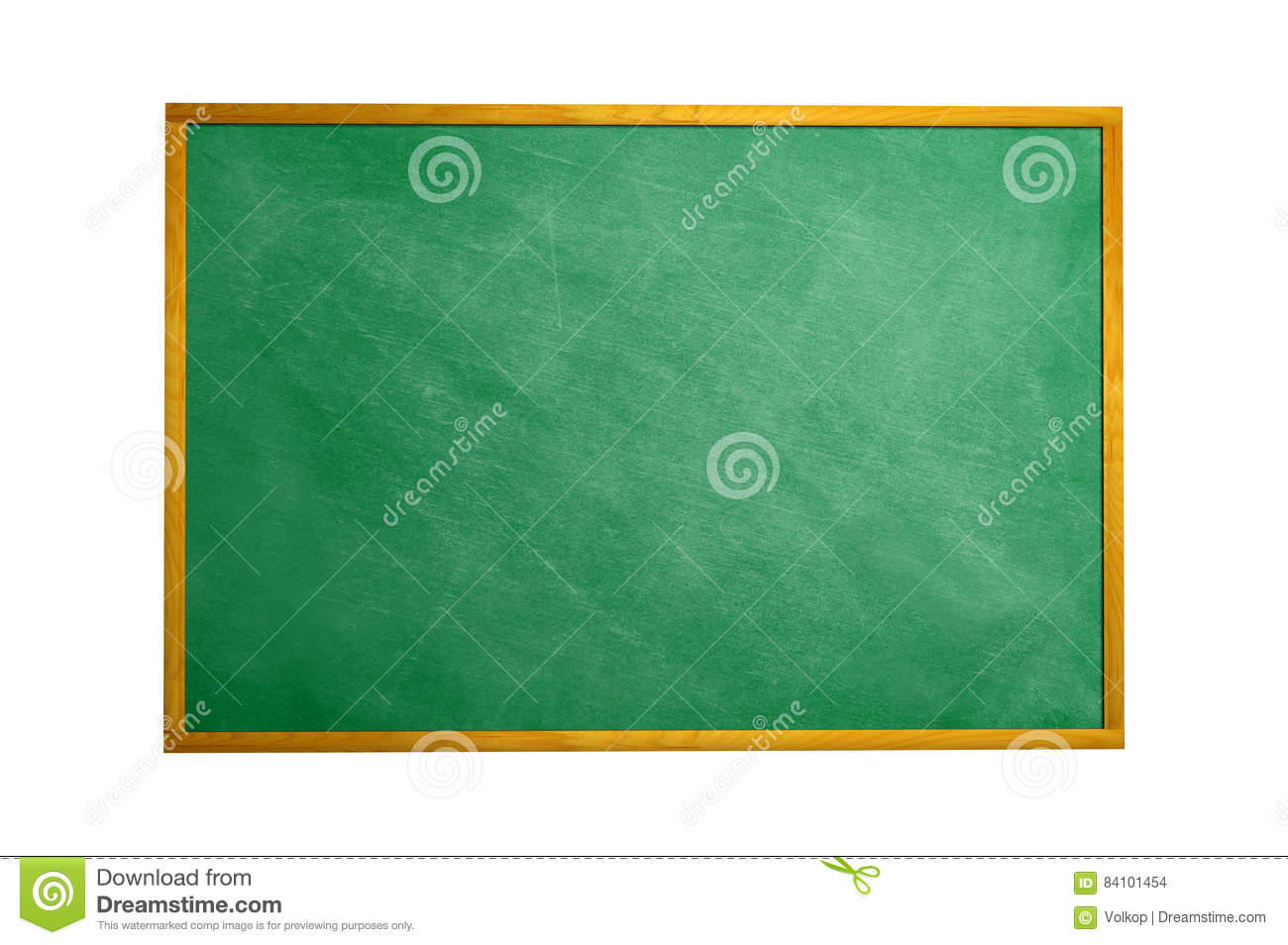 Download Chalkboard Blackboard With Frame Isolated. Black Chalk Board Tex Stock Photo - Image of primary, close: 84101454