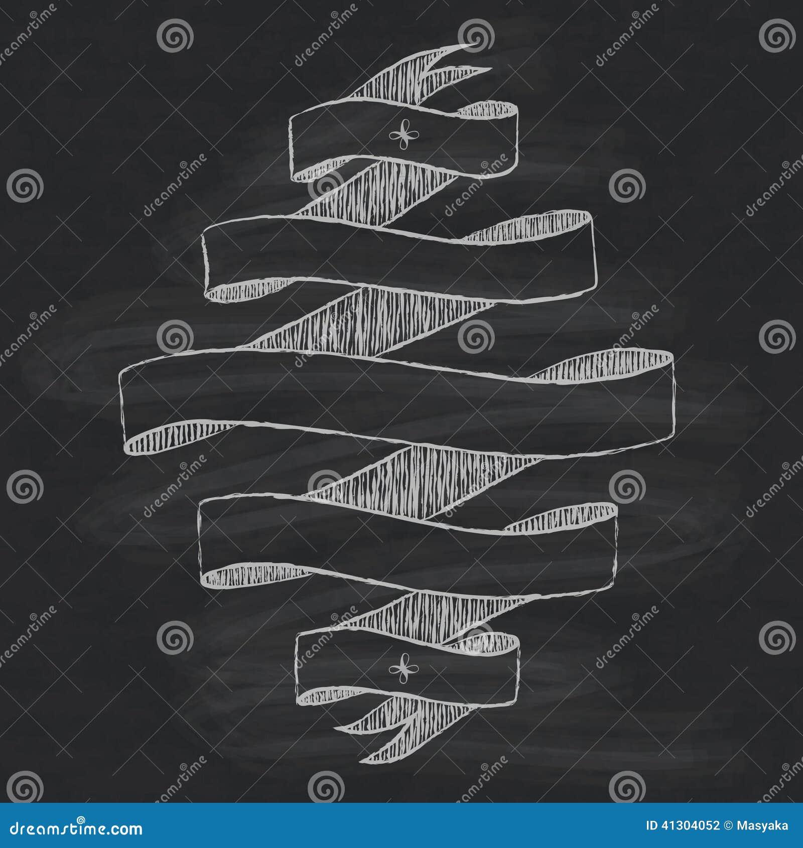 Chalkboard Design Element Stock Vector Illustration Of Ornate