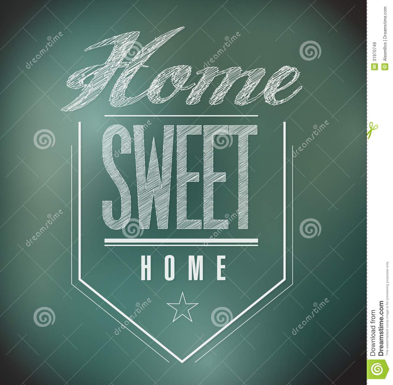 Home Sweet Home Vintage chalkboard vintage home sweet home sign poster royalty free stock