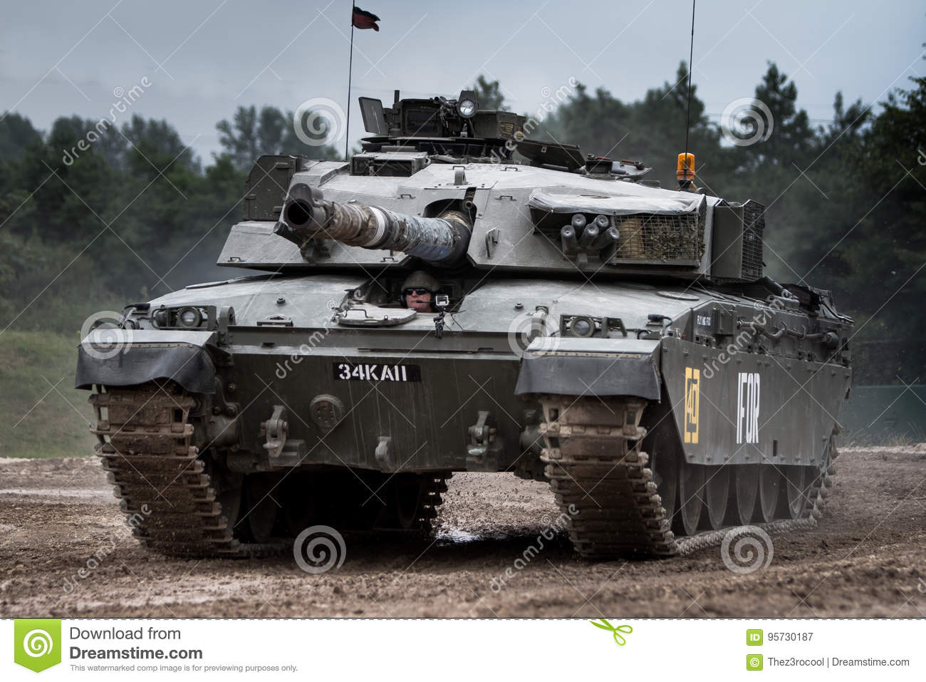10195f880ed0 Challenger 1 Tank editorial photography. Image of desert - 95730187