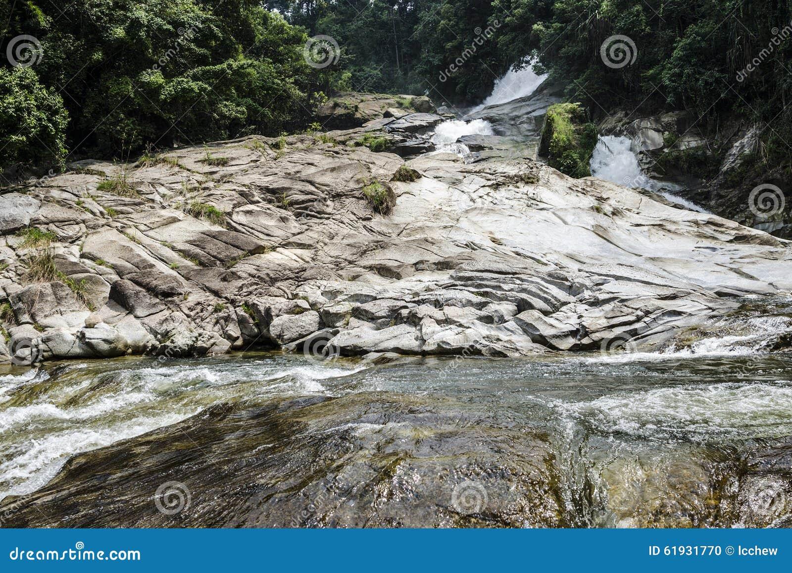 Chamang-Wasserfall, Bentong, Malaysia