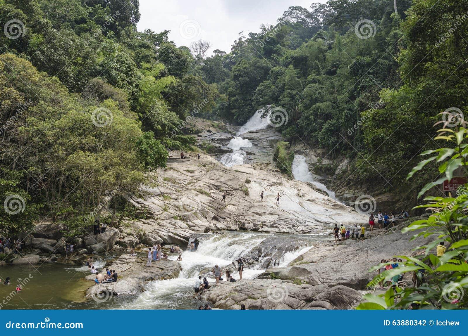 Chamang Waterfall, Bentong, Malaysia