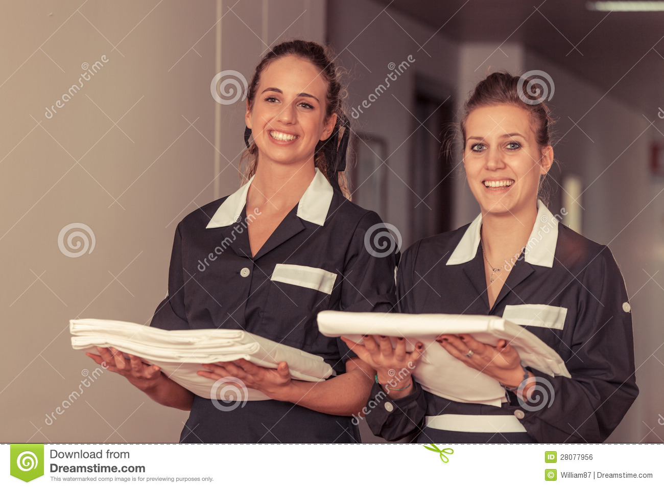Chamber maids royalty free stock image image 28077956 - Planning femme de chambre ...