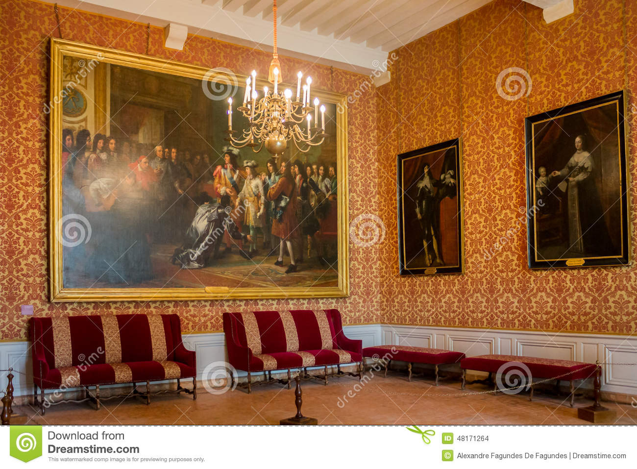 chambord castle france editorial stock image - image: 48171264