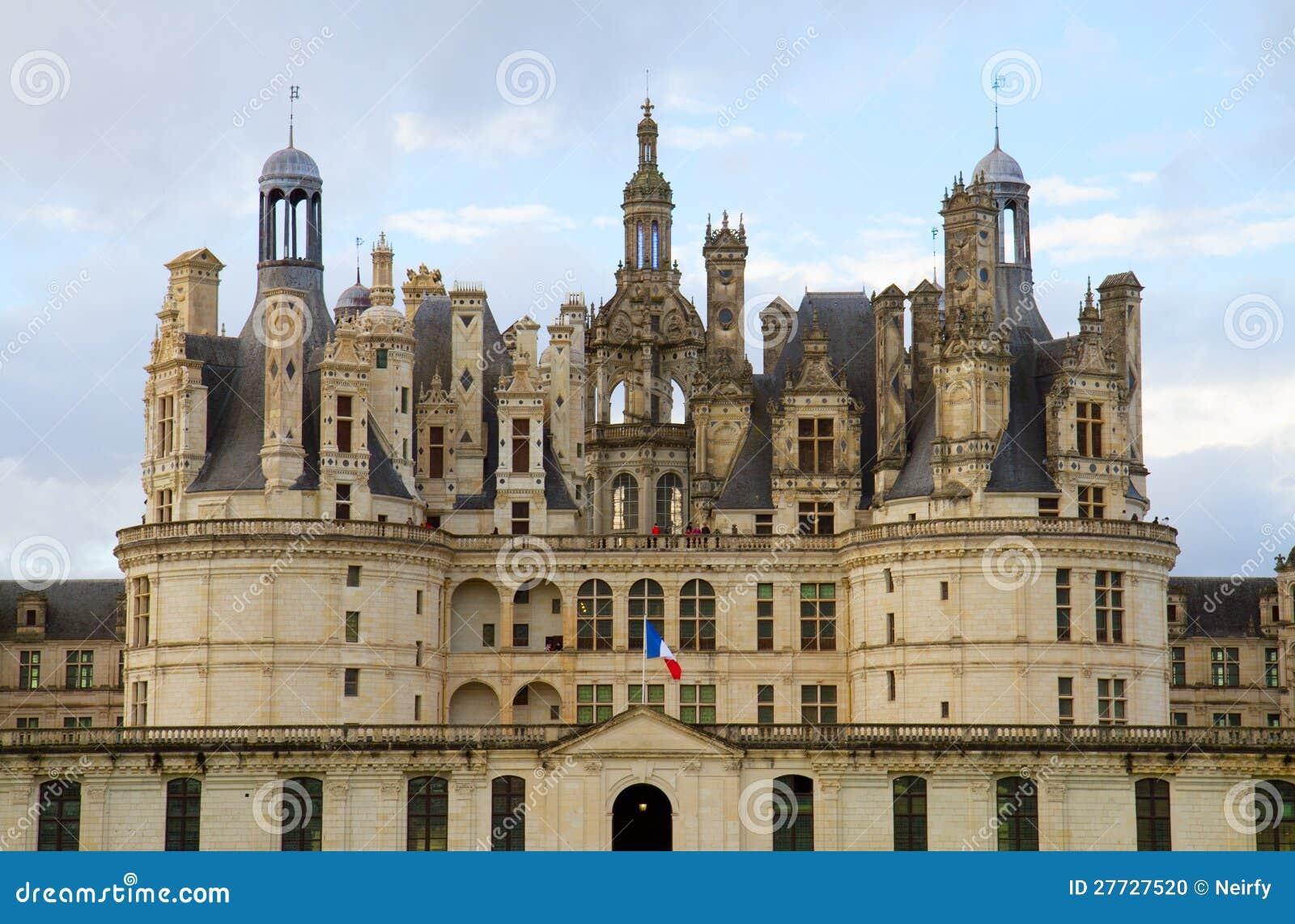 Chambord Schloss in Frankreich