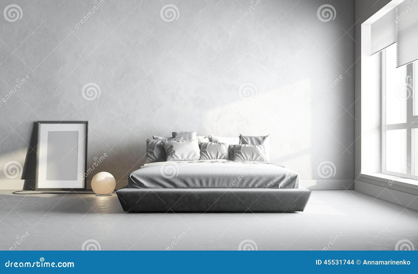Chambre à coucher blanche