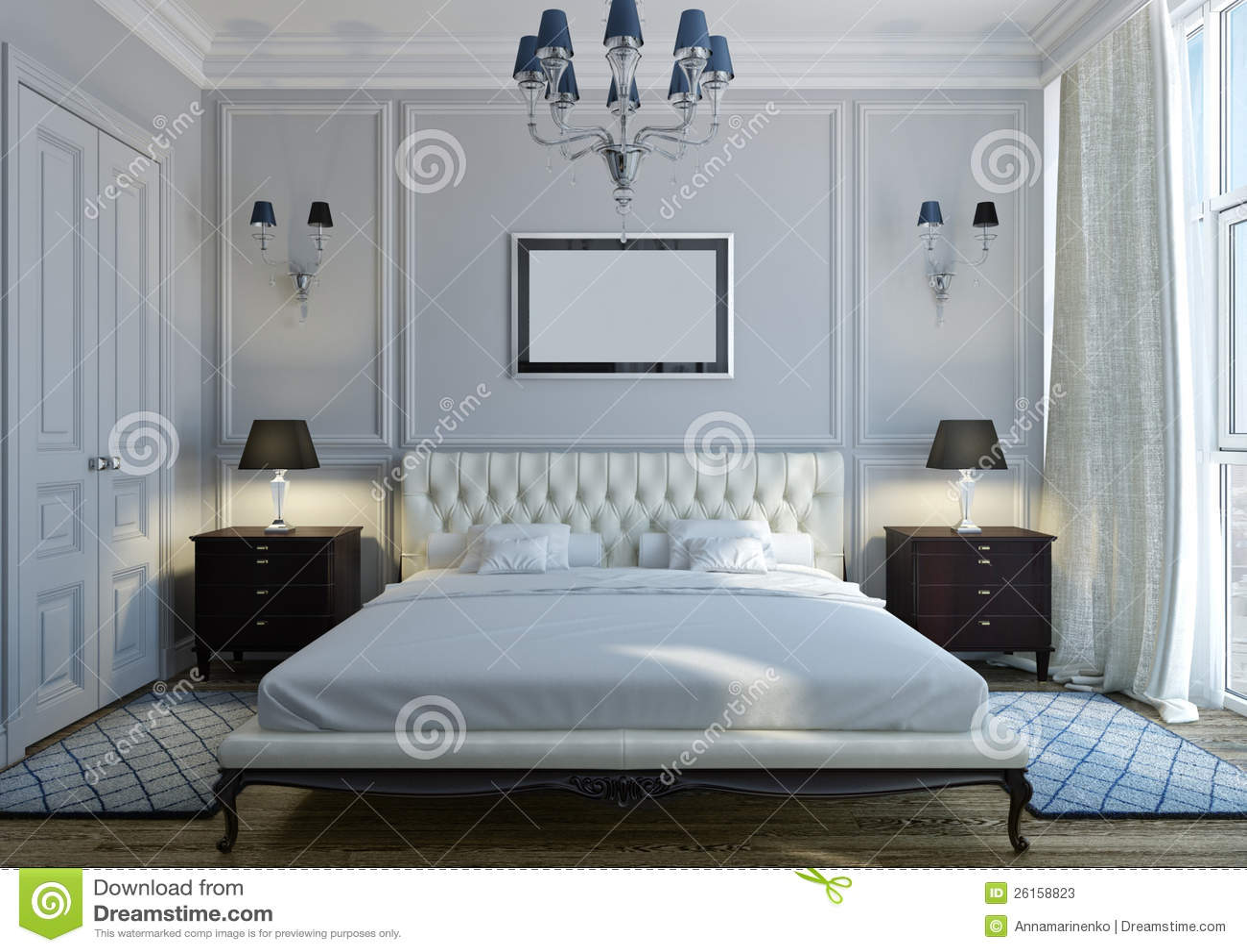 Chambre a coucher neo classique for Chambre a coucher classique moderne