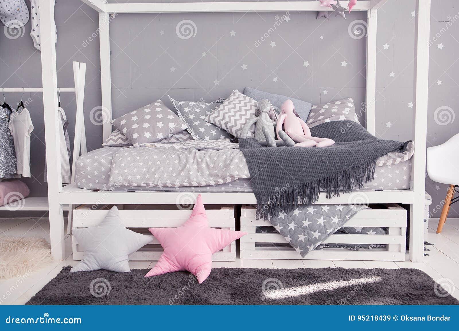 Accessoire Chambre D Enfant chambre à coucher confortable du ` s d'enfants dans le style