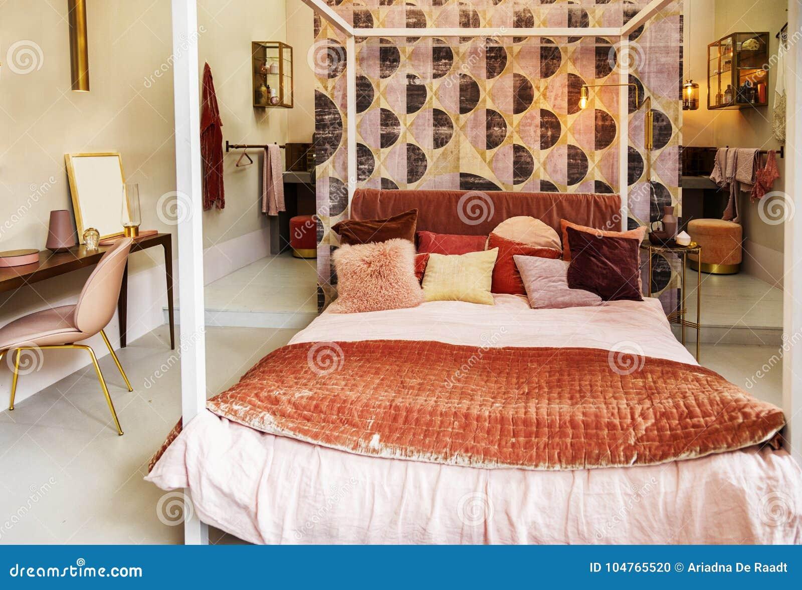 Superieur Chambre à Coucher Dans Le Style Campagnard