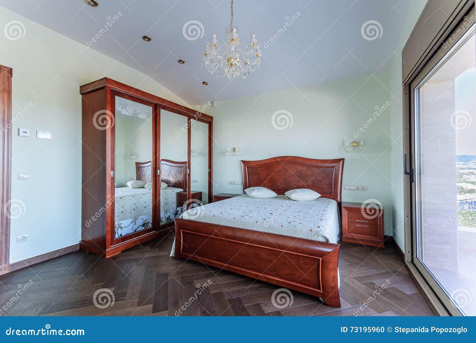 Chambre Coucher Dans Le Style Classique Meubles D Acajou De Luxe  # Meubles Modernes En Acajou