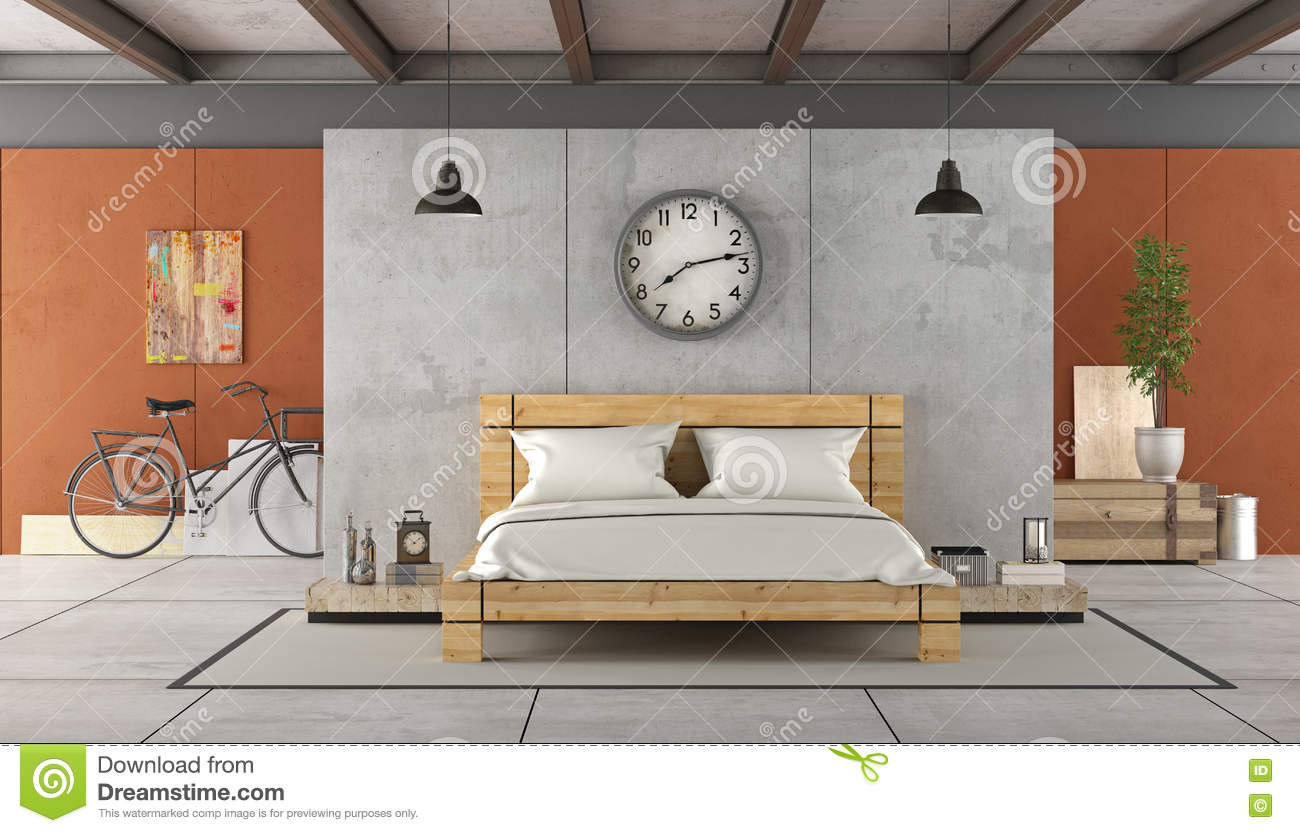 elegant bicyclette industriel with chambre style industriel. Black Bedroom Furniture Sets. Home Design Ideas