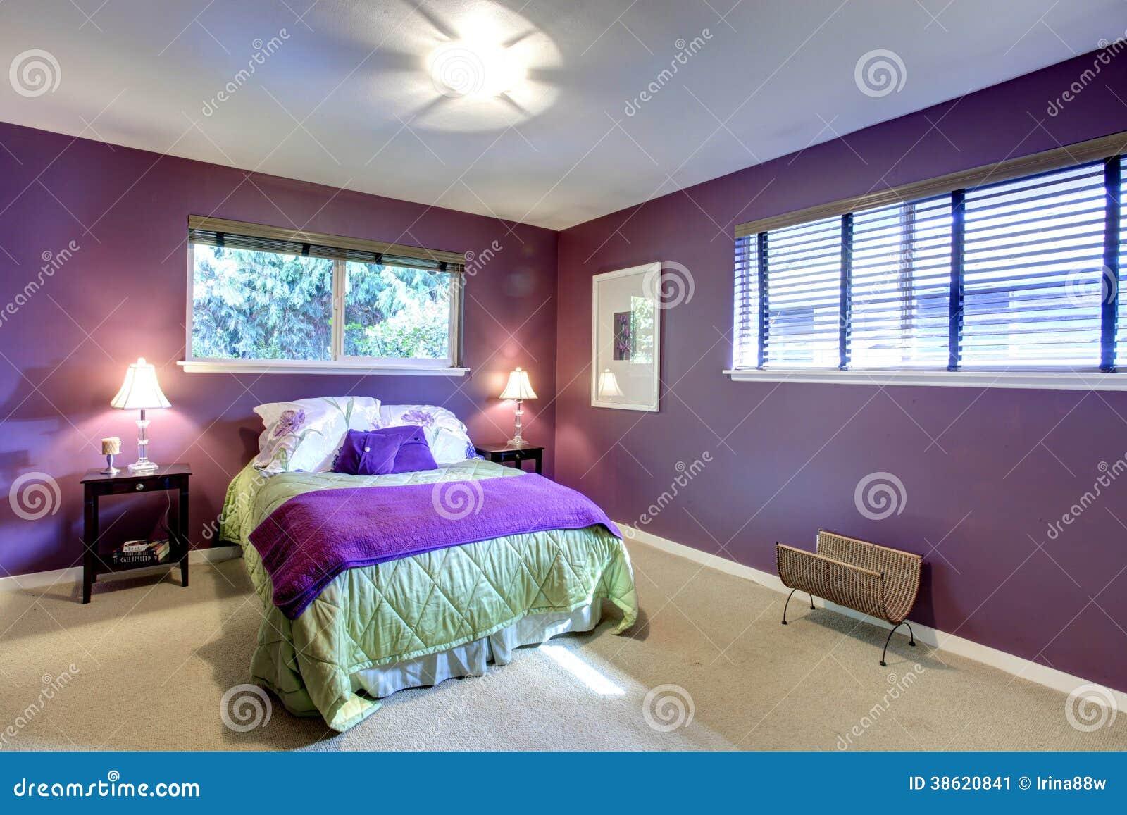 Chambre coucher de couleur de contraste belle image for Belle chambre coucher