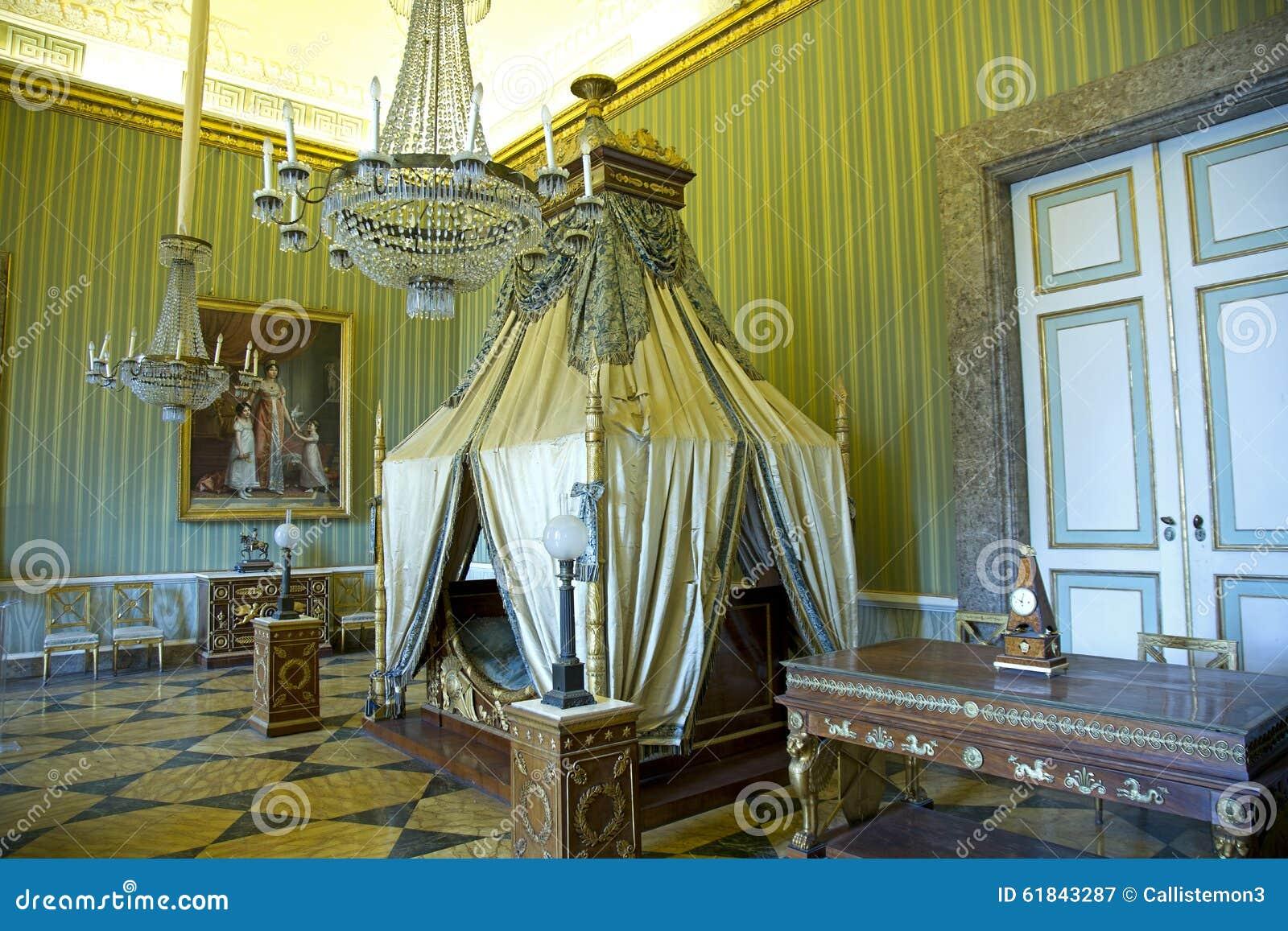 Chambre à Coucher De Joachim Murat Photographie éditorial ...