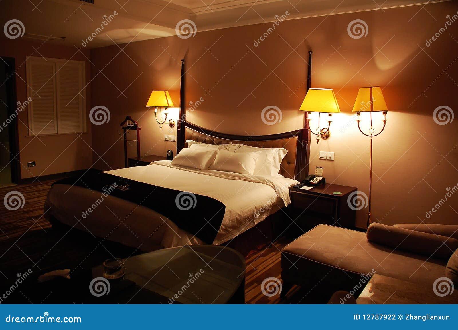 Chambre La Nuit : Chambre à coucher de luxe la nuit