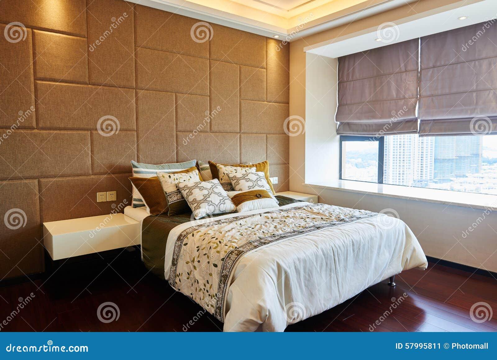 Chambre à Coucher De Luxe Moderne Image Stock Image Du